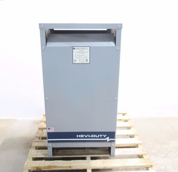 EGS S5H75S HEVI-DUTY 75KVA VOLTAGE TRANSFORMER