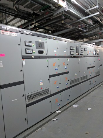 Cutler Hammer DSII Distribution Switchgear with DSII Breakers