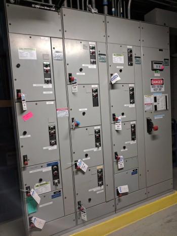 GE 8000 Line Motor Control Center MCC