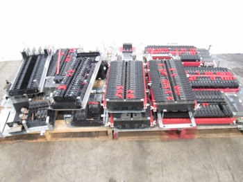 2 PALLETS OF ASSORTED CIRCUIT BREAKERS AND CIRCUIT BREAKER MODULES