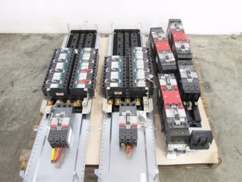 1 PALLET OF ASSORTED CIRCUIT BREAKERS 20-225A