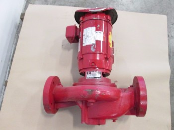 BELL & GOSSETT CIRCULATOR PUMP 3X7 B 162GPM 3HP 1800RPM