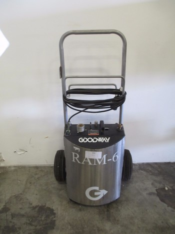 GOODWAY REAM-A-MATIC RAM-6-60, CHILLER TUBE CLEANER