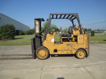 ROYAL TA180 TYPE: LP FUEL, MAX LIFT: 11,000 LBS FORK LIFT