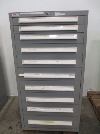 LYON MSS II SAFETYLINK 10 DRAWER TOOL BOX/STORAGE