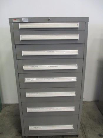 LYON MSS II SAFETYLINK 8 DRAWER TOOL BOX/STORAGE