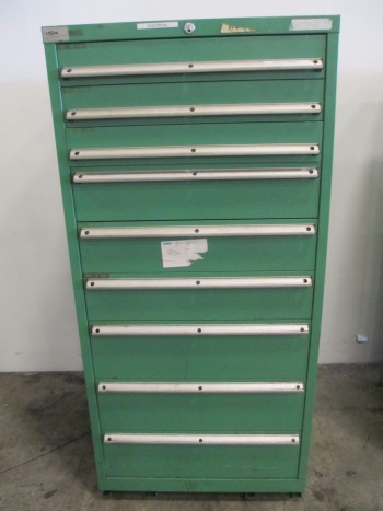 LISTA 9 DRAWER TOOL BOX/STORAGE