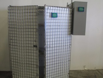 ROLLING STEEL TOOL CAGE