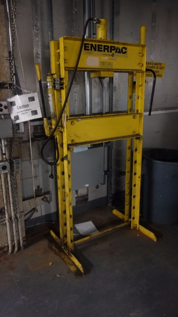 ENERPAC 25T H-FRAME PRESS