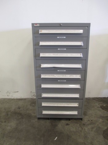 LYON MSS II SAFETYLINK 9 DRAWER TOOL BOX