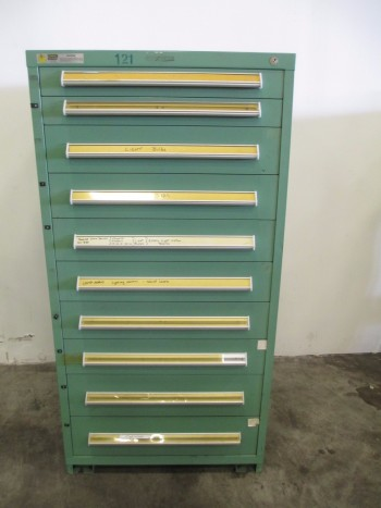 STANLEY VIDMAR 10 DRAWER TOOL BOX