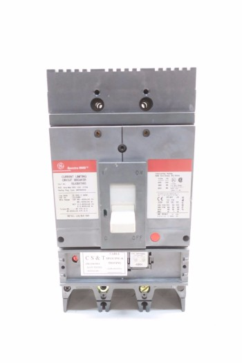 GE SGLA36AT0400 400A CIRCUIT BREAKER