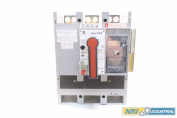 GE TP1616TTR 1600A POWER BREAK CIRCUIT BREAKER