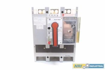 GE TP1616TTR 1600A POWER BREAK CIRCUIT BREAKER