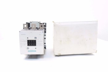 SIEMENS 3RT1065-6AF36 250HP AC CONTACTOR