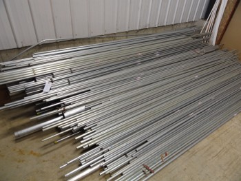 Lot of Metal Conduit  (Sizes range from 1/2 to 4 1/2approx. - 500+/- pieces)