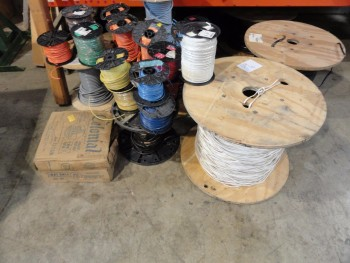Assorted Stranded Cooper wiring, electric wiring