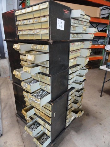 20 section parts bin - Rotates