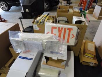 Box Lot of Electric Water Heater elements, insulators, etc.