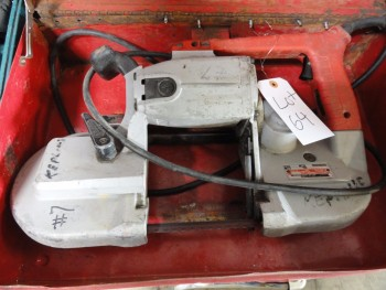 Milwaukee power band saw
