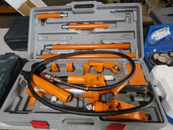 Hydraullic portable wire puller 4 ton
