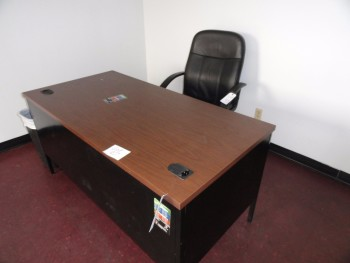 Desk, table and chair set