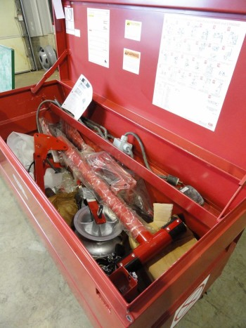GB  Bender Attachments & Job Box - NO MOTOR