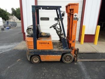 Toyota Prolift Forklift LP Fuel
