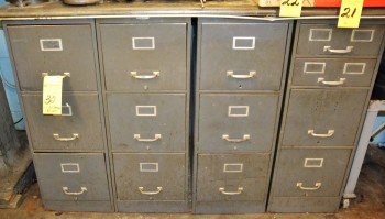 3 Draw Metal File Cabinets (Letter Size)