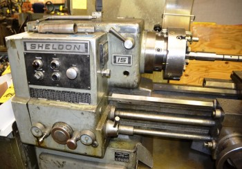 Sheldon 1960 Manual Lathe S/N 31800