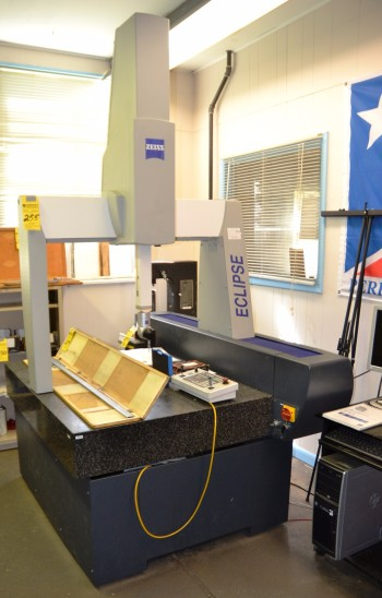 2009 Zeiss Coordinate Measuring Machine S/N 991205138