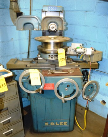 Kolee Surface Grinder with Magnetic Chuck S/N 266602L Model SE612