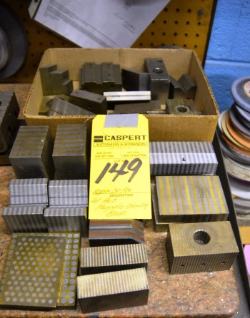 LOT - Assorted Magnetic Grinding Blocks APP30PGS