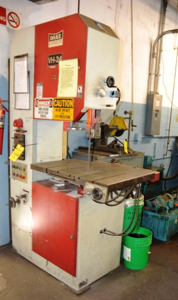 Duke Band Saw Vertical with Blade Welder Model VH24