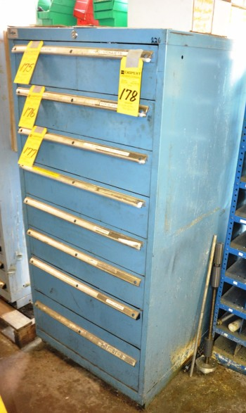 Lista 8 Drawer Metal Tool Cabinet