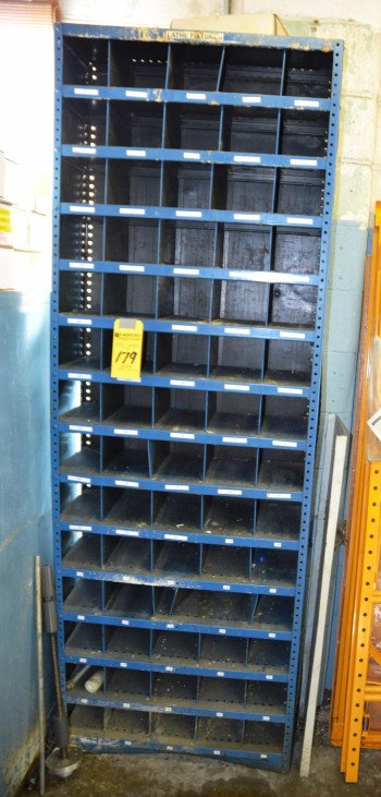 Metal Cuby Hole Parts Cabinet