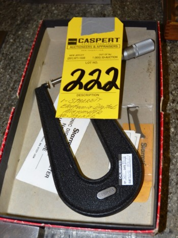 Starrett Electronic Digital Micrometer No 731XFL