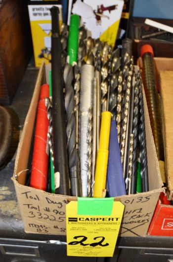 LOT - Assorted Long Stem Drill Bits