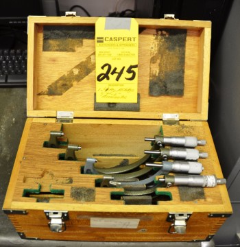 4 Piece Mitutoyo 3-4-6 Micrometers