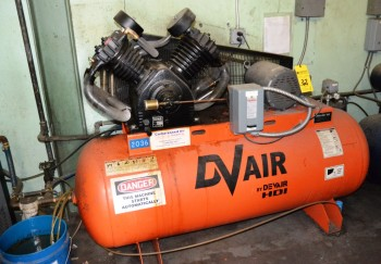 2007 DV Air Compressor 10HP S/W 5816001