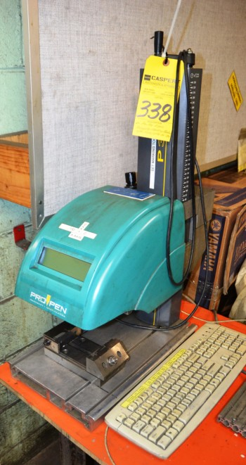 Pro-Pen P3000 Pnematic Marking Machine S/N P3000/DPN 06-734