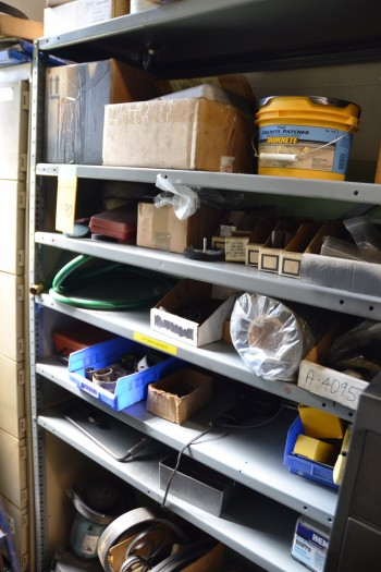 LOT - Shelf Unit and Parts