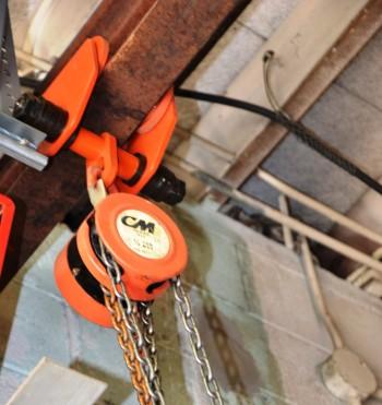 CM 1/2 Ton Chain Hoist