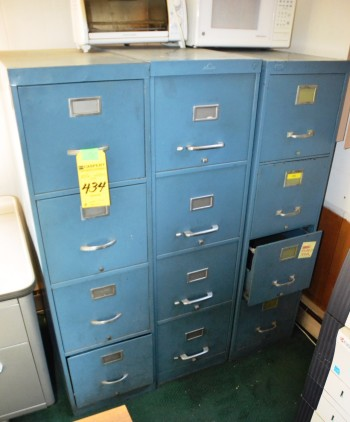 Assorted 4 Drawer File Cabinets