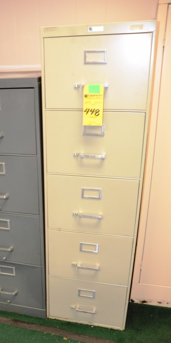 5 Drawer Legal File Cabinet