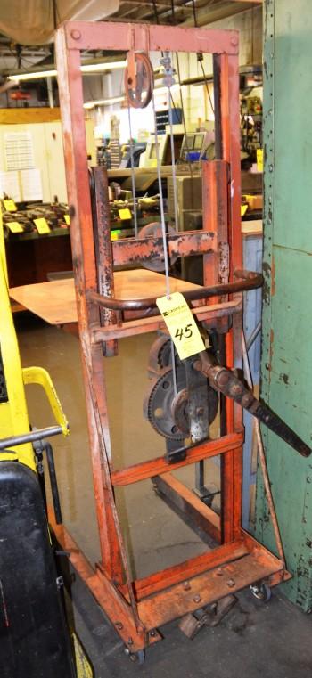 Manual Flatform Lift