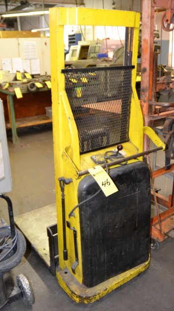 Big Joe Electric Platform Lift Model #9957