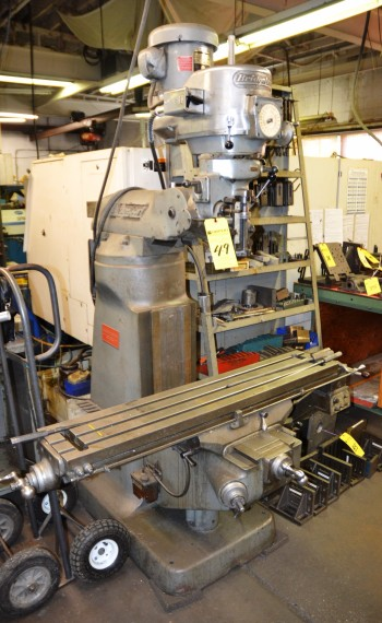 BRT Milling Machine with Power Feed 9.5\
