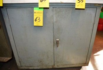 2 Half Door Metal Storage Cabinet