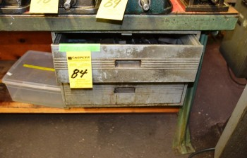 Metal Work Bench with Draw 36\